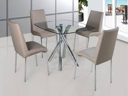 Dining Tables 4 Chairs Chair Amusing 4 Chair Glass Dining Table 4 Chair Glass Dining