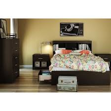south shore step one full size mates bed with drawers and bookcase