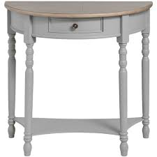 white half moon table churchill collection half moon table from hill interiors