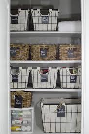 linen closet bathroom linen closet organization the simply organized home