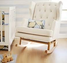 Affordable Rocking Chairs Nursery Rocking Chair Cushion Cover Gold White Polka Dots By