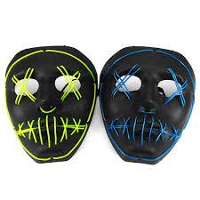 online buy wholesale halloween led light from china halloween led halloween led light up purge mask luminous skeleton el wire rave