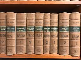 Queen S Bench Division File A Few Volumes Of The Law Reports Queens Bench Division Jpg