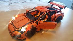 porsche lego porsche 911 lighting project lego