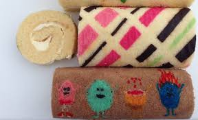 patterned roll cake recipe how to cook that ann reardon dumb ways