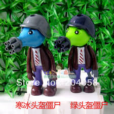free shipping new 2pc toys plants vs zombies figures boys