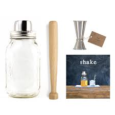 barware sets w p design barware set with shake book huckberry