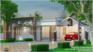 Kerala Home Design And Cost by Kerala Home Design Single Floor Modern Villa Sq Ft Houses Model