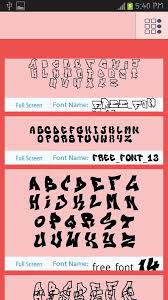 50 tattoo fonts style android apps on google play