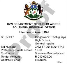 sle resume journalist position in kzn education bursary 2017 kwazulu natal department of public works adverts