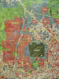 Maricopa County Zip Code Map by Whispering Ranch Information