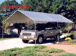 Tarp Awnings Canopy Silver Replacement Tarp For 10 U0027 X 20 U0027 Canopies