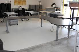 Chef Schreibtisch Chefschreibtisch Gebraucht Elektrisch Höhenverstellbar Von Palmberg