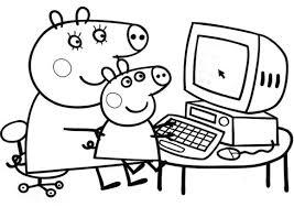 peppa pig coloring games 224 coloring