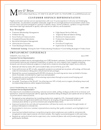 Sample Resume Of Customer Service Representative by 4 Customer Service Representative Resume Template Resume Template