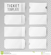 ticket template ticket template set vector modern mock up wedding cinema