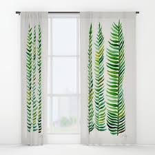 seaweed window curtains society6