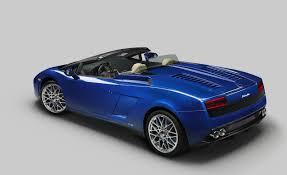 Lamborghini Gallardo Back - lamborghini gallardo lp 550 2 spyder the purest form of maximum