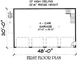 4 car garage size 4 car garage plans four car garage designs at coolhouseplans com