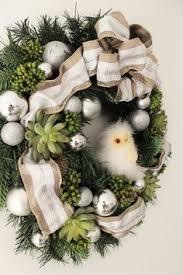 silver color wreath 15 home decoration
