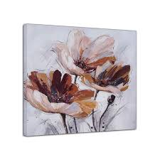 aliexpress com buy 100 hand painted oil painting simple flowers aliexpress com buy 100 hand painted oil painting simple flowers knife painting chinese wall art canvas mural for dining living room no frame from