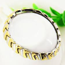 mens charm bracelet images Silver gold bracelet men good luck mens fashion jewelry stainless jpg
