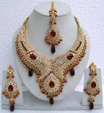n10795 designer artificial jewellery necklace set tika