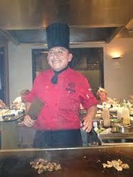 japanese restaurant cook at table a master sushi chef at benihana the mikado pinterest sushi chef