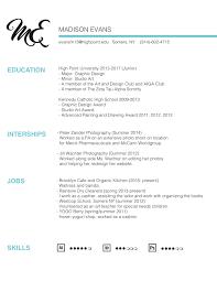 Resume For A Waitress Resume U2013 Madison Evans Design