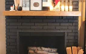 painting fireplace brick best 25 painted brick fireplaces ideas on