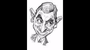 mr bean digital caricature sketch on ipad pro apple pencil youtube