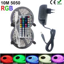 dc led strip lights riri won smd rgb led strip light 5050 2835 10m 5m led light rgb leds