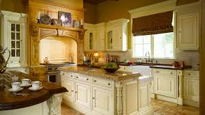 large luxury kitchen with curved shape kitchen bench island