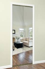 Bifold Mirrored Closet Doors Lowes Found This Mirror Closet Door Lowes Collection In Combination