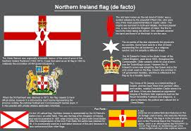 What Is A White Flag A Lot Of Post About The Northern Ireland Flag So Here Is The