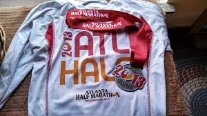 the for the year finished half marathon
