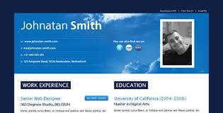 Online Resume Website by 35 Best Online Cv Resume Templates Web U0026 Graphic Design Bashooka