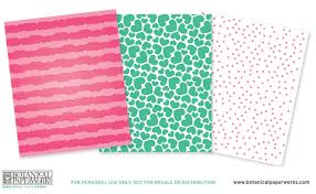 botanical wrapping paper free printable kids eco stickers and wrapping