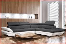 canap d angle cuir blanc design canapé d angle cuir noir et blanc 148721 decoration canap promotion