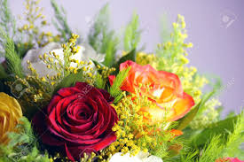 Different Color Roses Bouquet Of Different Color Roses Stock Photo Picture And Royalty