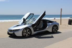 first bmw i8 units to be delivered to u s customers at 2014