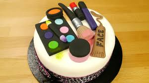 how to make a groovy make up cake youtube
