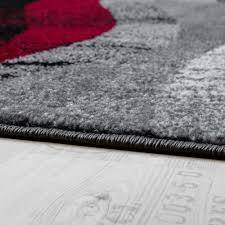 Wohnzimmer Schwarz Grau Rot Teppich Rot Schwarz Carprola For