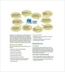 social media strategy template 12 free social media templates