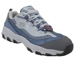 skechers 76442 womens alloy toe work shoe rogan u0027s shoes