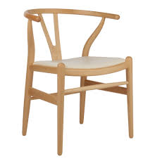 hans wegner wishbone chair in ash u0026 leather dining chair of