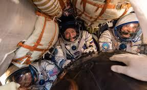gallery soyuz ms 04 crew back on earth spaceflight insider