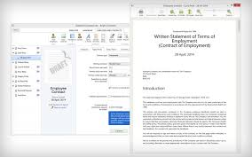 bright contracts employment contract and staff handbook software
