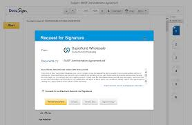 Signed Cover Letter Docusign Adviser U0026 Client Experience Sfw Branding U2013 Superfund