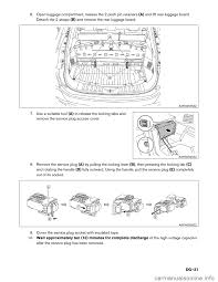 2002 nissan maxima crash zone sensor nissan rogue hybrid 2017 2 g dismantling guide